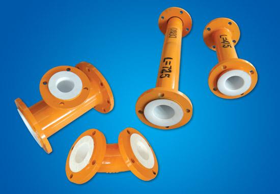 PTFE tērauda plastmasas detaļu caurule